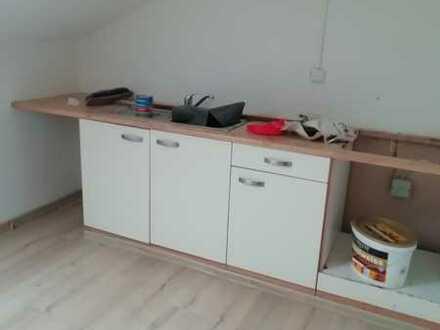 Preiswerte, vollständig renovierte 2-Zimmer-Dachgeschosswohnung in Bad Kissingen