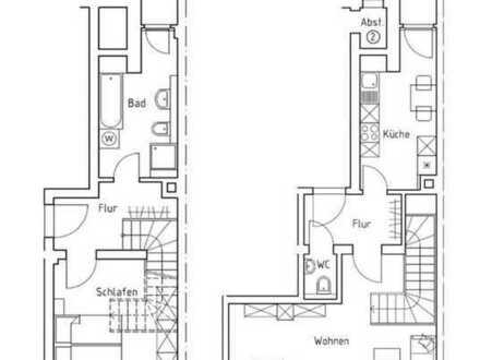 ++ ERSTBEZUG !!! - 2 Zimmer, 2 Balkone, Tageslichtbad mit Wanne und Dusche, Gäste-WC ++