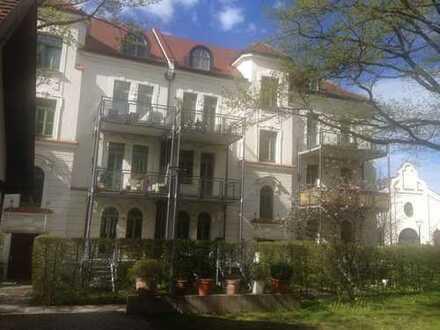 3,5 Zi.-Altbau-Maisonettewohnung mit Wintergarten im 2.OG/DG im Prinzregenten Park in Freising