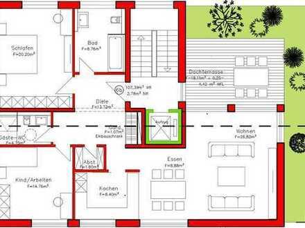 1 Exklusive Penthousewohnung (107 qm) von privat in Darmstadt-Dieburg (Kreis), Groß-Zimmern