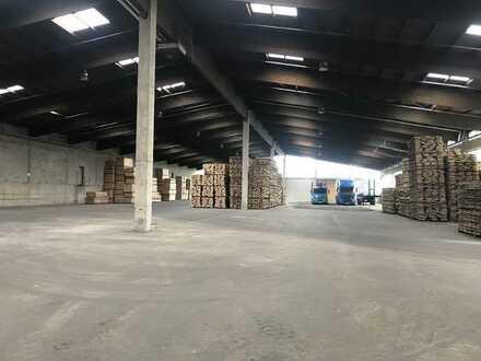 Lagerhalle, ca. 3.600 m², direkt an der A1/A48 in 54552 Mehren zu vermieten