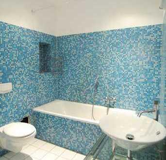 Designer-Singlewohnung mit Einbauküche und stylischem Bad