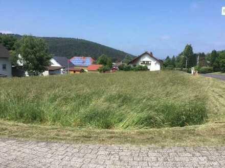 Voll erschlossenes Baugrundstück im Wohngebiet.