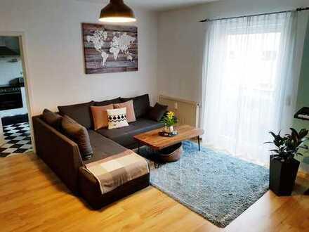 Ansprechende, sehr gepflegte 2-Zimmer-Wohnung mit Balkon im Stadtjägerviertel