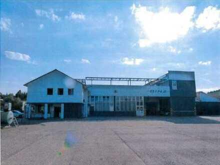 Traitteur - Grundstück mit Lager- und Produktionsgebäuden!
