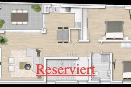 Reserviert !!! Moderne 2 1/2 ZKB Neubau-Eigentumswohnung (DG) in zentraler Lage