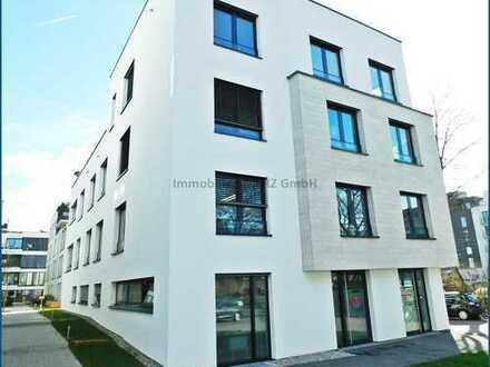 ~~Vielseitig nutzbare Gewerbeeinheit im Erdgeschoss eines Wohn- und Geschäftshauses am Neckarbogen~~