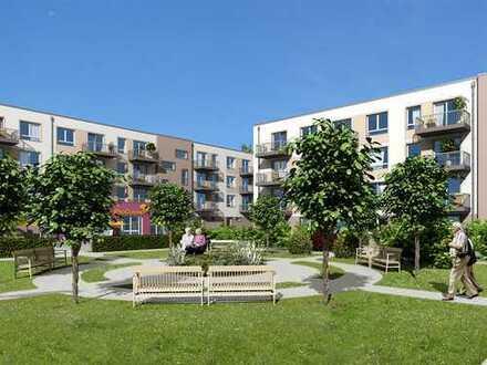Schöne Seniorenwohnung mit lauschiger Terrasse sucht Blumenflüsterin