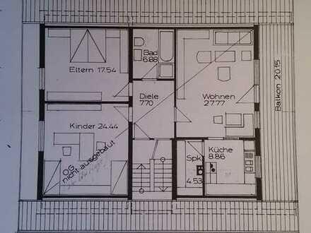 3-Zimmer-DG-Wohnung mit Balkon in Ubstadt-Weiher-Zeutern