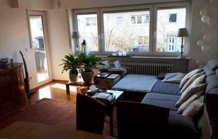 Gepflegte 3-Zimmer-Hochparterre-Wohnung mit Balkon in Bernhausen