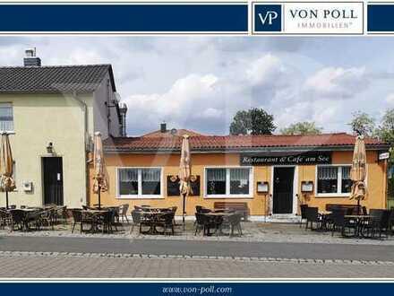 Profitables Restaurant & Café direkt am See