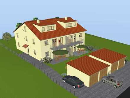 3-Zimmer-EG-Wohnung Neubau KfW 40 Plus in Röhlingen