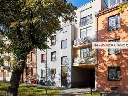 IMMOBERLIN: Moderne Wohnung mit Westbalkon in Babelsberger Toplage