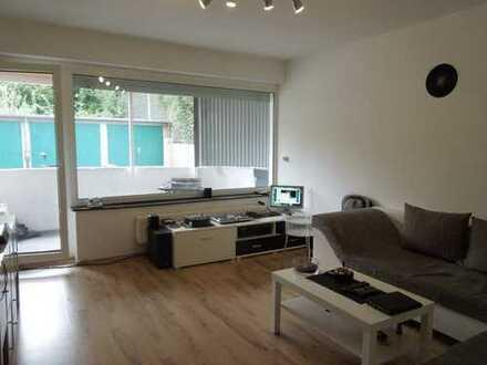 Knuffige Erdgeschoss-Wohnung ... 51m² mit Terrasse in Krefeld-Inrath!