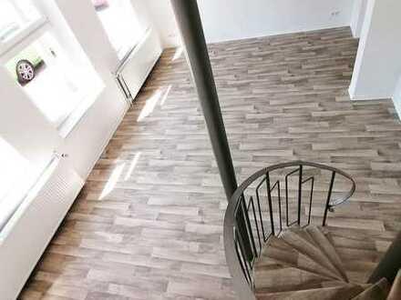 frisch renovierte 4-Raum-Masionettwohnung mit sehr guten Möglichkeiten für Homeoffice