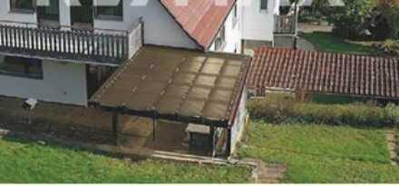 Freundliche 2-Zimmer-Hochparterre-Wohnung mit Balkon und Einbauküche in Bodelshausen