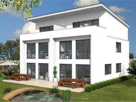 Ein wahres Traum-Doppelhaus mit extravagantem Dach