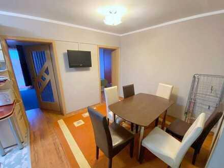Modernisierte Wohnung mit zwei Zimmern sowie Balkon und EBK in Bad Saulgau