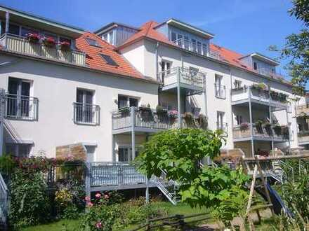 Kapitalanleger aufgepasst: Vermietete, schöne Wohnung: Balkon, Wohn-u. Schlafzimmer zur Gartenseite