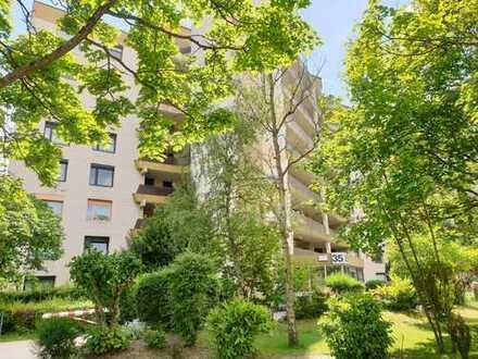 Top Angebot in Wörth: Großzügige 4ZKB (ca. 110m²) mit 2 Bädern, Balkon & Keller