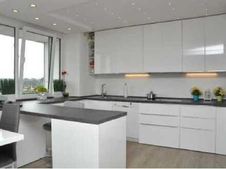 Hochwertige, voll möblierte, kernsanierte 3-Zimmer-Penthouse-Wohnung mit tollem Balkon in Mettmann