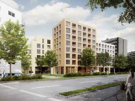 Quartier Sophie La Roche - moderne 2 Zi. 5. OG Neubauwhg. mit Ostterrasse!