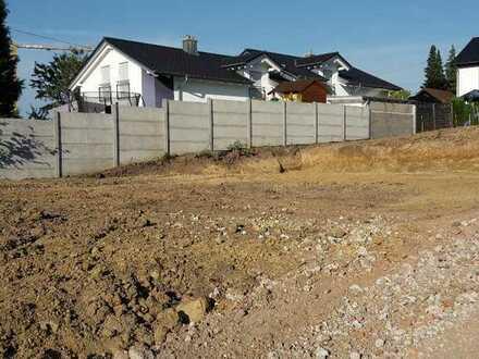 Ruhiges Grundstück mit Baurecht für ein Einfamilienhaus