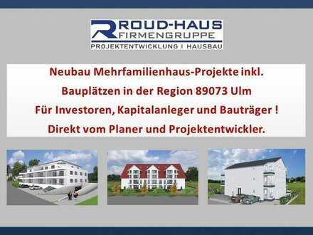 Neubau MFH-PROJEKTE inkl. Bauplatz in ULM !