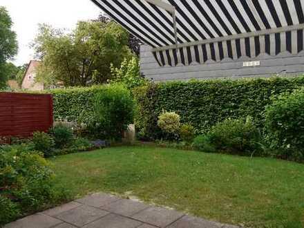 2 Zimmer Erdgeschoss mit schönem Gartenteil, ruhige innenstadtnahe Lage