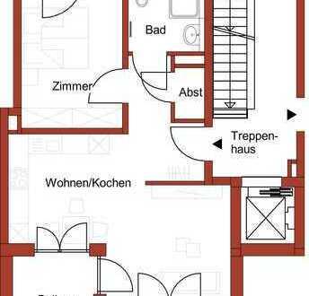 2-Zimmer-Erdgeschoss-Wohnung im Neubau!
