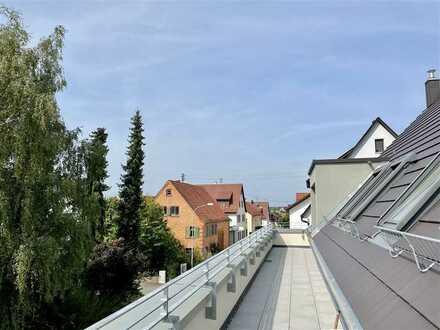 Modernes Wohnen mit hochwertiger Ausstattung und unverbaubarem Blick ins Grüne!