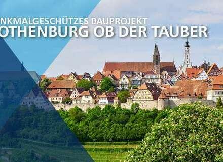 Denkmalgeschütze 2,5-Zimmer DG-Wohnung in zentraler Lage in Rothenburg ob der Tauber!