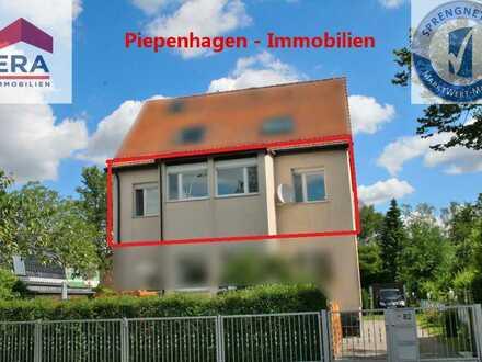 Käuferprovisionsfrei! Wohnung mit Gartenanteil & Einzelgarage!