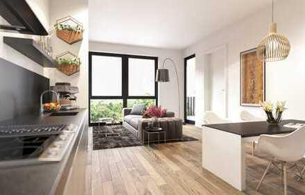 PANDION LEON - Gut geschnittene 2-Zimmer-Wohnung mit großem Bad und Südbalkon