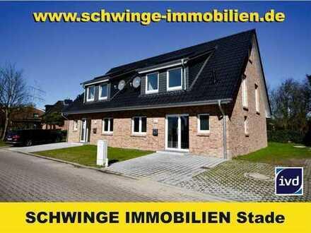 SCHWINGE IMMOBILIEN Stade: Vermietung Neubau Doppelhaushälfte