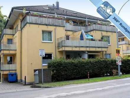 Vermietete 3-Zimmer-Eigentumswohnung mit zwei Balkonen und Stellplatz in Strausberg