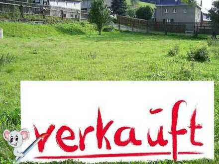 +++ VERKAUFT! +++ 600 m² sonniges Bauland im schönen Erzgebirge von PRIVAT! +++ VERKAUFT! +++