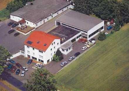 Autohaus mit Büro und Werkstatt in Selb