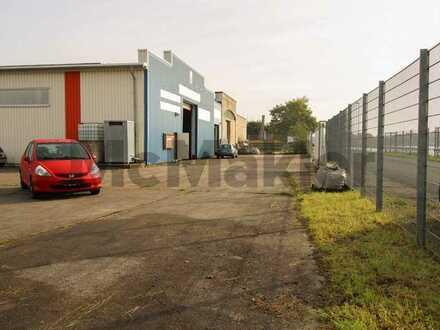 Lukratives Investitionsobjekt in Wilhelmshaven: Ehemalige Wikinger Werft mit 3 Lagerhallen