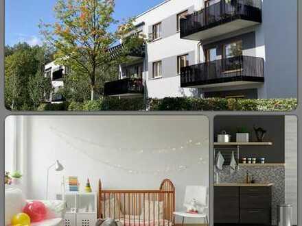 Stadtvilla im Wohnpark Grünau: top 3-Zimmer-Wohnung ab 1. Februar 2020