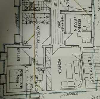 Vollständig renovierte 2,5-Zimmer-Terrassenwohnung mit Einbauküche in Ehingen