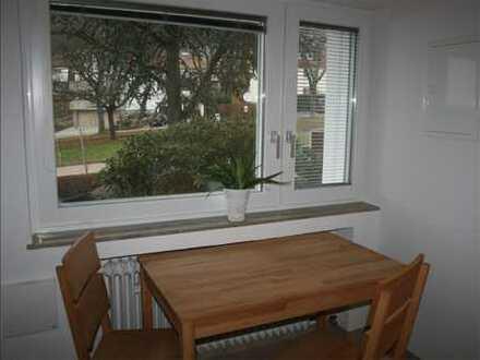 Für Wochenendheimfahrer: teilmöbilierte 1-Zimmer-EG-Wohnung in Aalen, Grauleshof