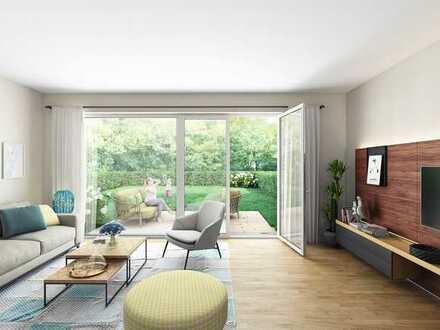 Komfortable 2-Zi.-Wohnung mit Terrasse und Garten im historischen Ortskern von Französisch Buchholz