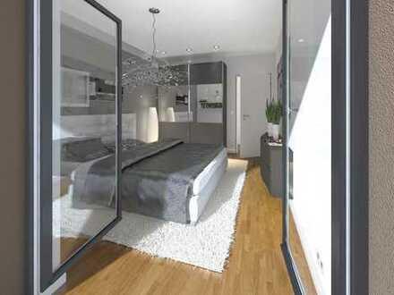 2-Zimmerwohnung in attraktivem Ensemble von 5 Stadtvillen, ruhig und grün