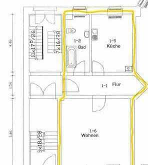 Geräumige, gepflegte 1-Zimmer-Wohnung zur Miete in Fürstenwalde/Spree