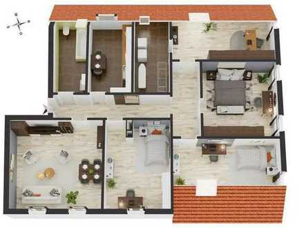 Großzügige helle 5-Zimmer-Wohnung mit Ausbaumöglichkeit