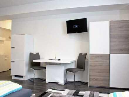 Schöne,helle, komfortable und möblierte 1ZKB Wohnung - 5 Min zur Audi, Zentrum und Bahnhof
