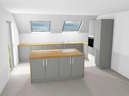 Erstbezug: ansprechende 5-Zimmer-Wohnung mit Einbauküche und Balkon in Backnang