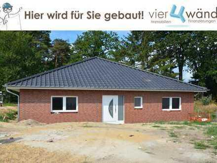 Barrierefrei Wohnen im Neubau-Bungalow