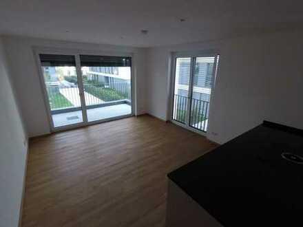 exklusive 3-Zimmer-Wohnung in der Heidelberger Bahnstadt mit EBK und Loggia